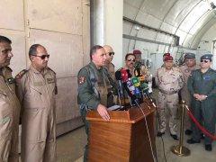 伊拉克防长亲自驾驶F-16轰炸IS费卢杰据点